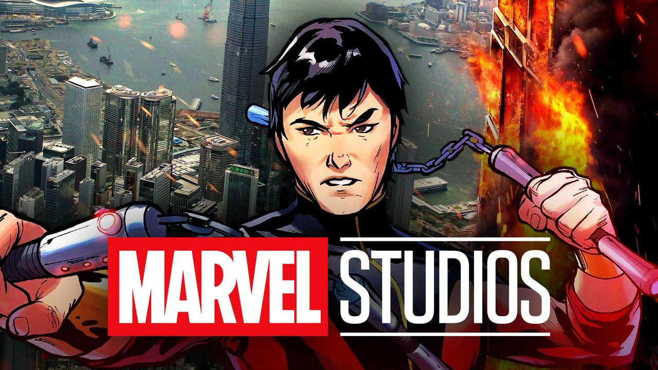 Shang-Chi, Marvel Studios logo