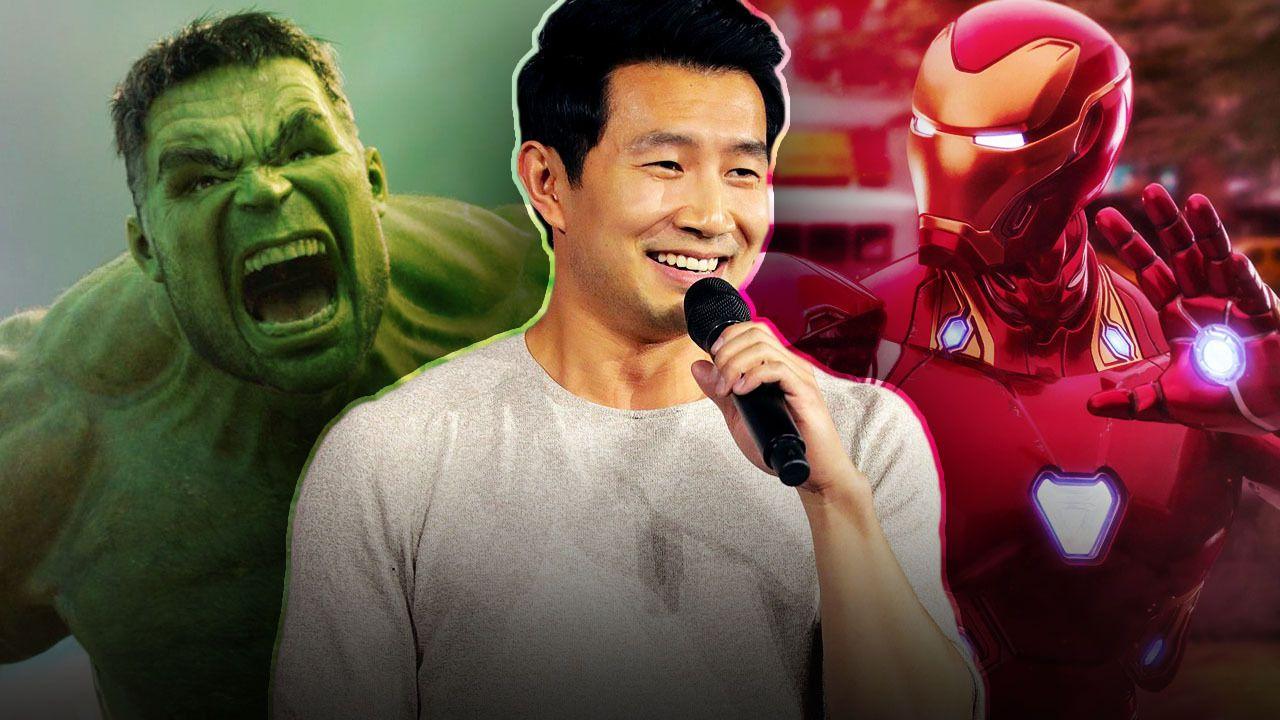 Hulk, Simu Liu, Iron Man