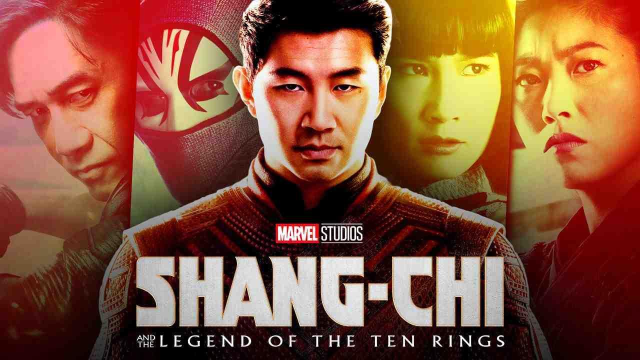 Shang-Chi logo, Simu Liu as Shang-Chi