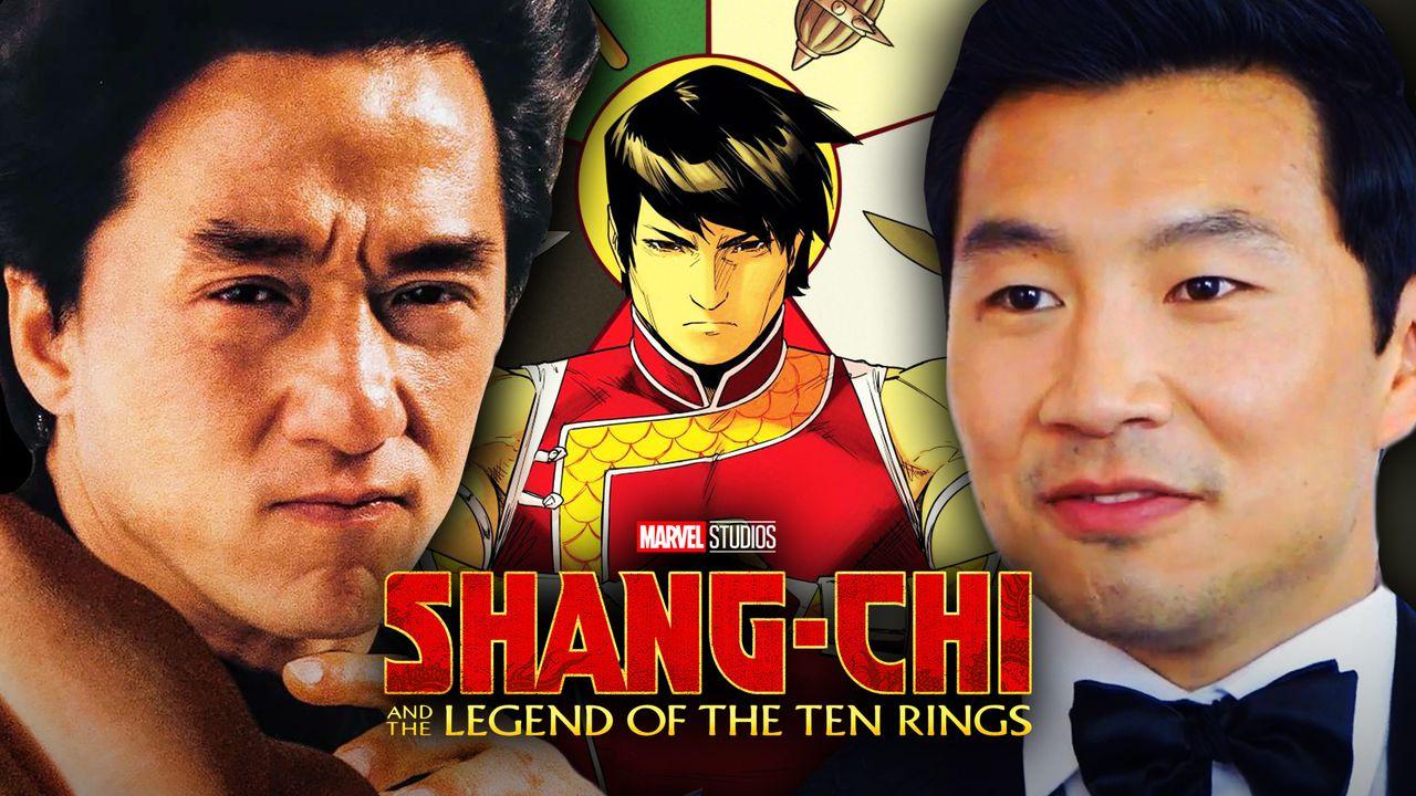 Jackie Chan, Simu Liu, Shang-Chi