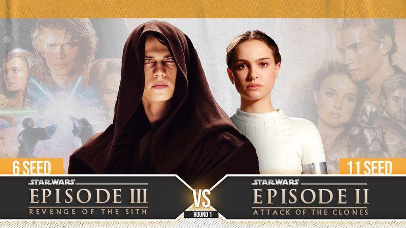 Revenge of the Sith vs. Attack of the Clones
