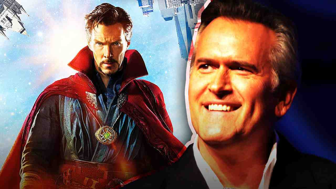 Bruce Campbell and Doctor Strange