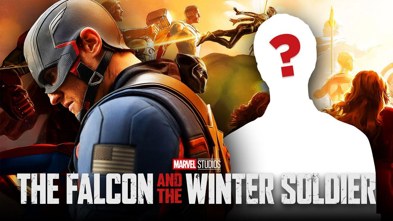 The Falcon and the Winter Soldier logo, Wyatt Russell as John Walker
