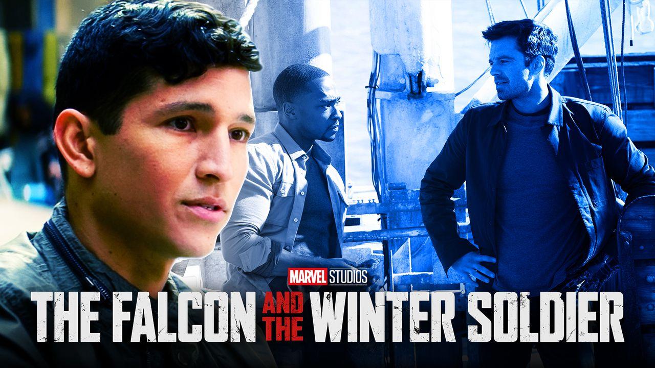 falcon winter soldier danny ramirez bts marvel mcu disney+