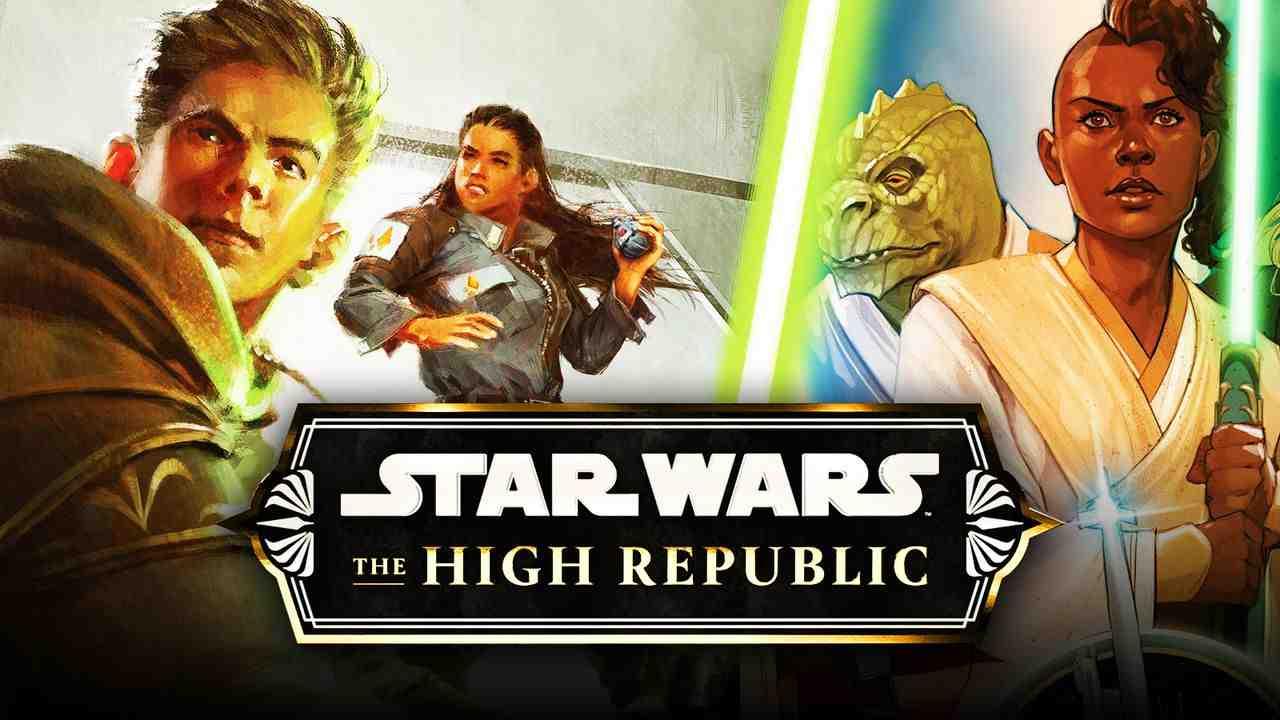 The High Republic logo, Jedi Knights