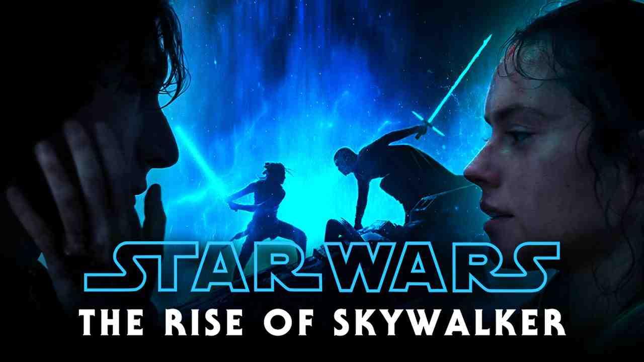 Daisy Ridley as Rey, Adam Driver as Ben Solo