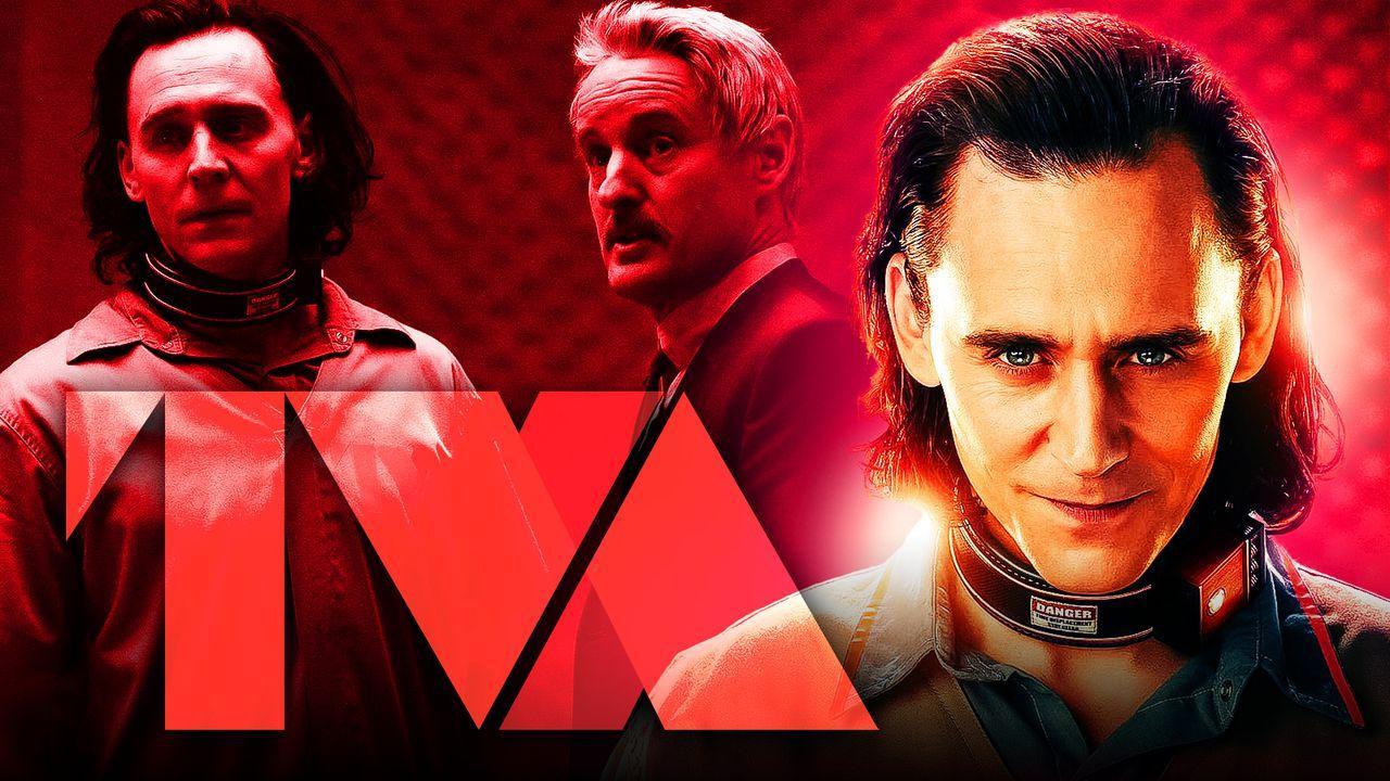 Tom Hiddleston Loki Owen Wilson TVA logo
