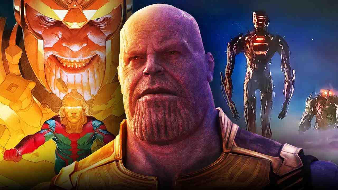 Josh Brolin as Thanos, Celestials, Al'ars