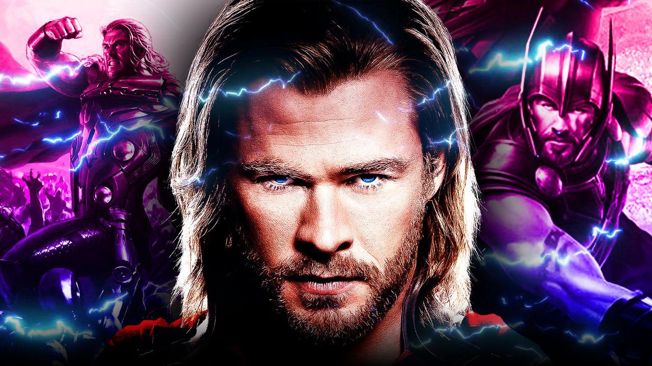 Thor Chris Hemsworth Background Lightning