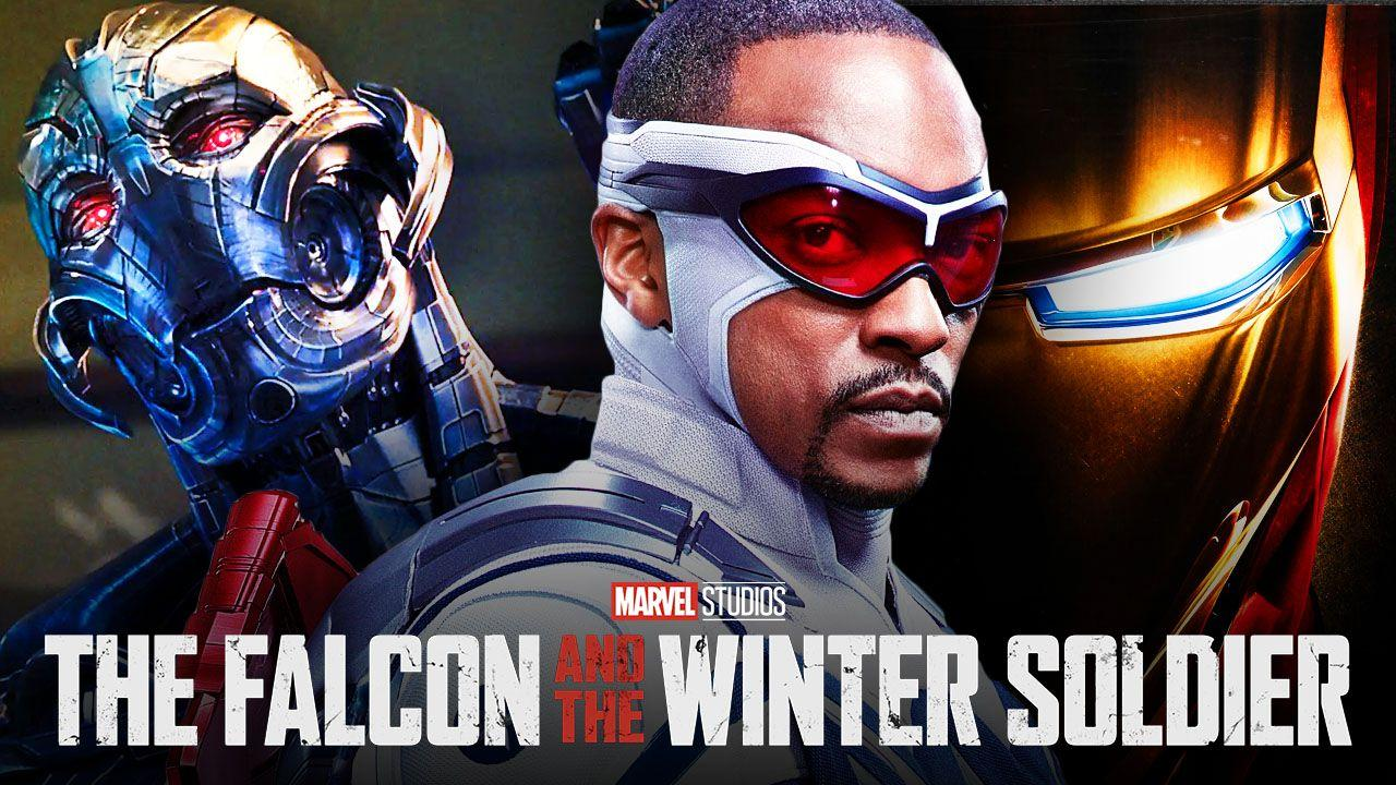 Sam Wilson as Captain America, Iron Man, Ultron