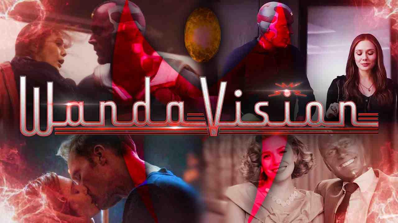 WandaVision, Vision, Scarlet Witch, MCU, Marvel