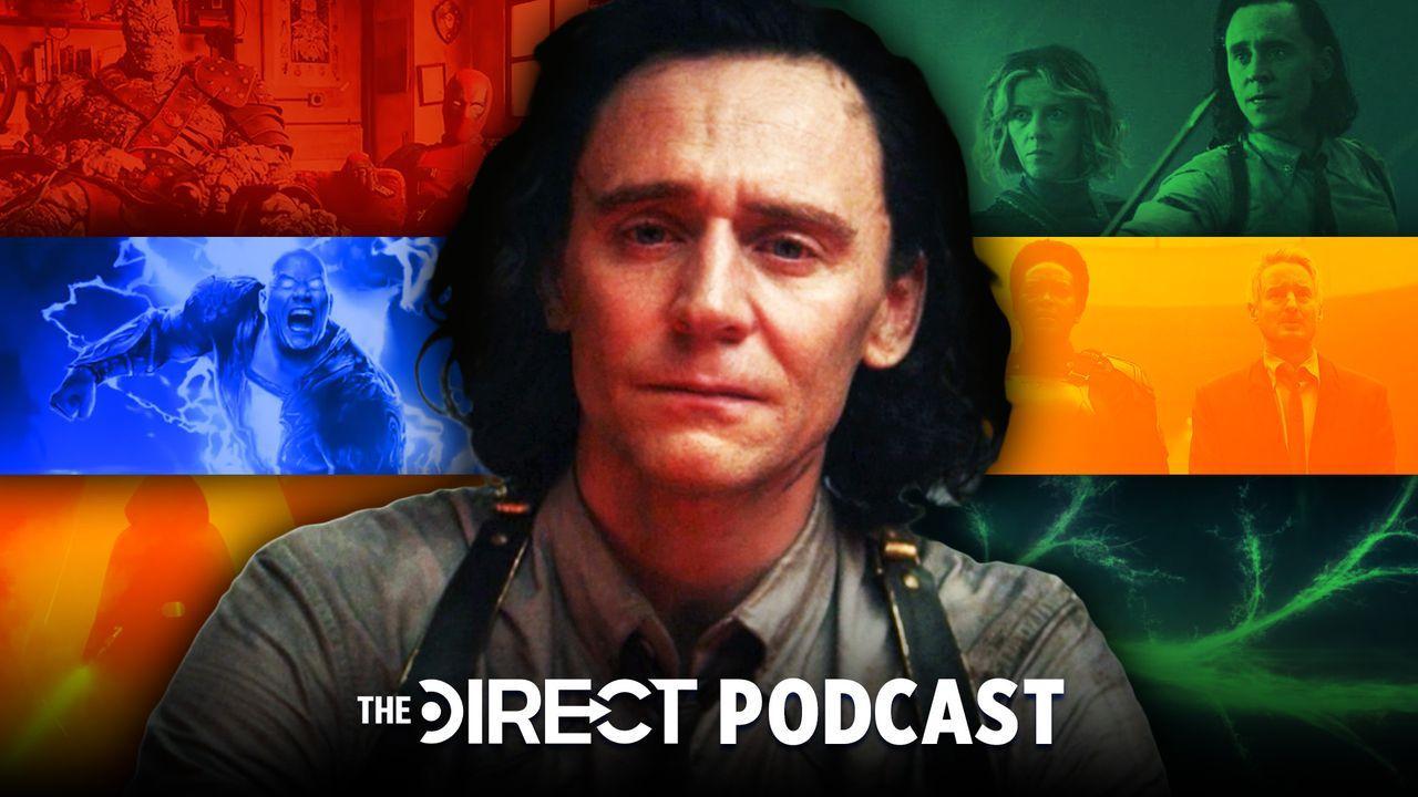 Loki, The Direct Podcast, Black Adam, Korg and Deadpool