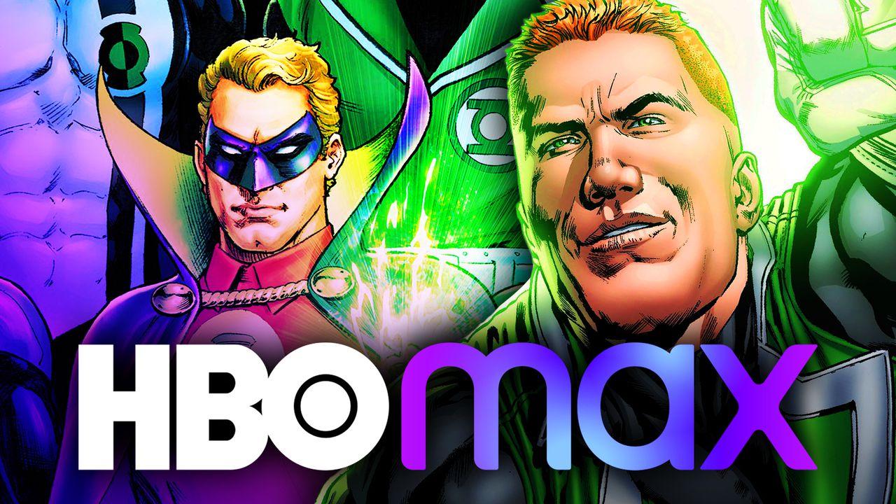 Green Lantern, HBO Max Logos