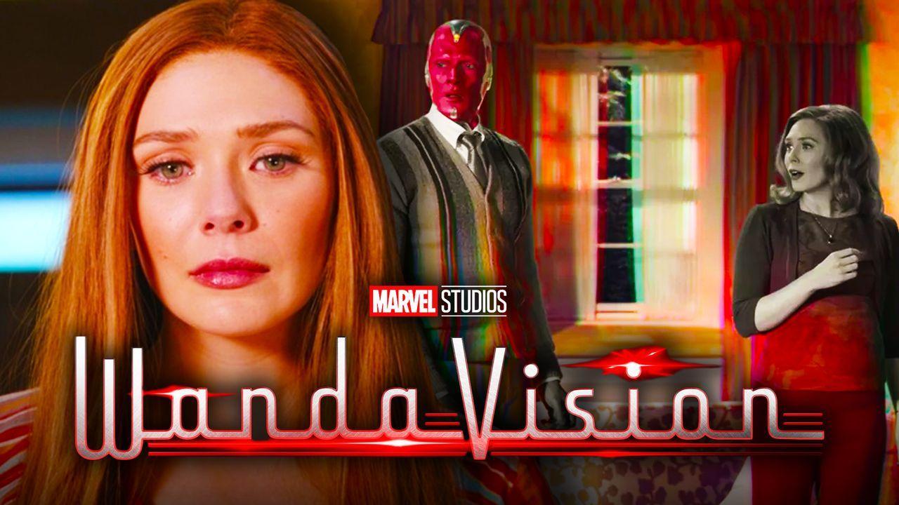 Wanda, WandaVision logo, Vision