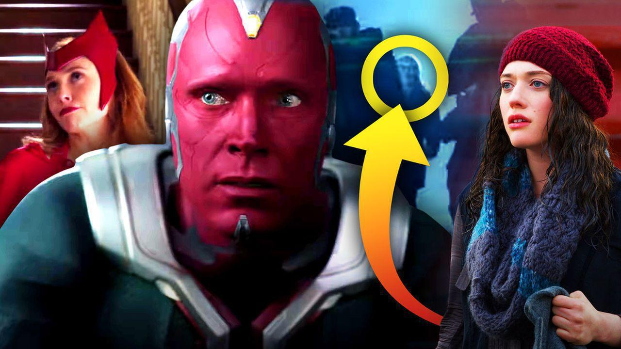 Scarlet Witch and Vision with Darcy Lewis