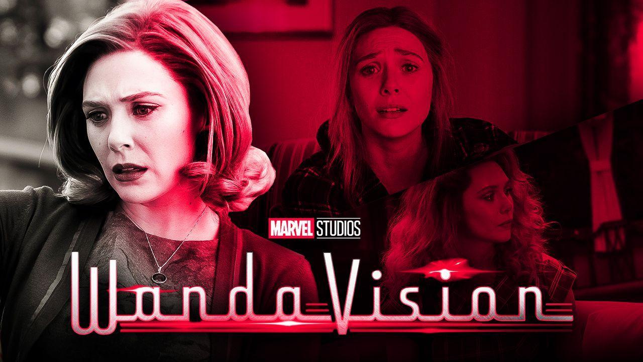 WandaVision Elizabeth Olsen