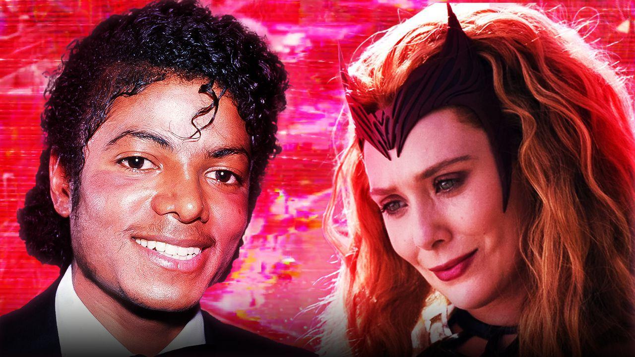 Michael Jackson WandaVision Scarlet Witch