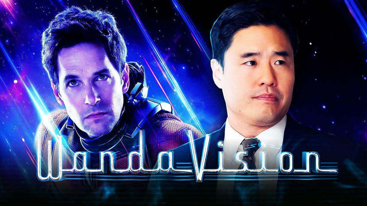 Ant-Man, WandaVision logo, Randall Park as Jimmy Woo