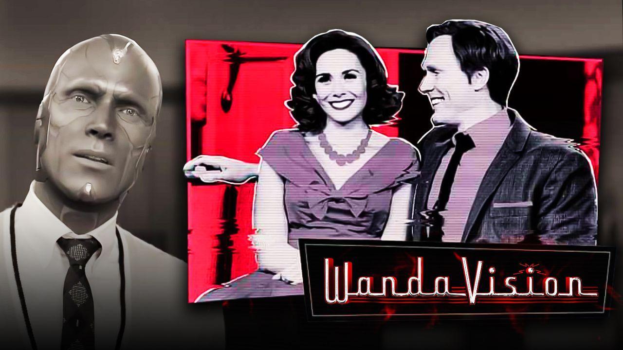 Black & white vision, Promo image Wanda & Vision