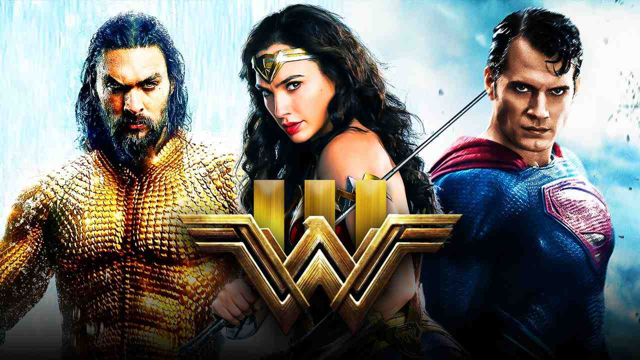 Aquaman, Wonder Woman, Superman