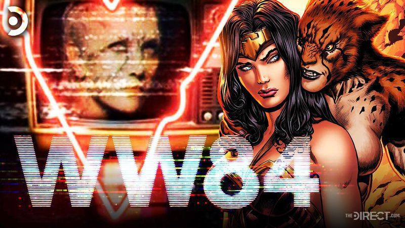 Gal Gadot's Wonder Woman with Kristen Wiig's Cheetah from Wonder Woman 1984