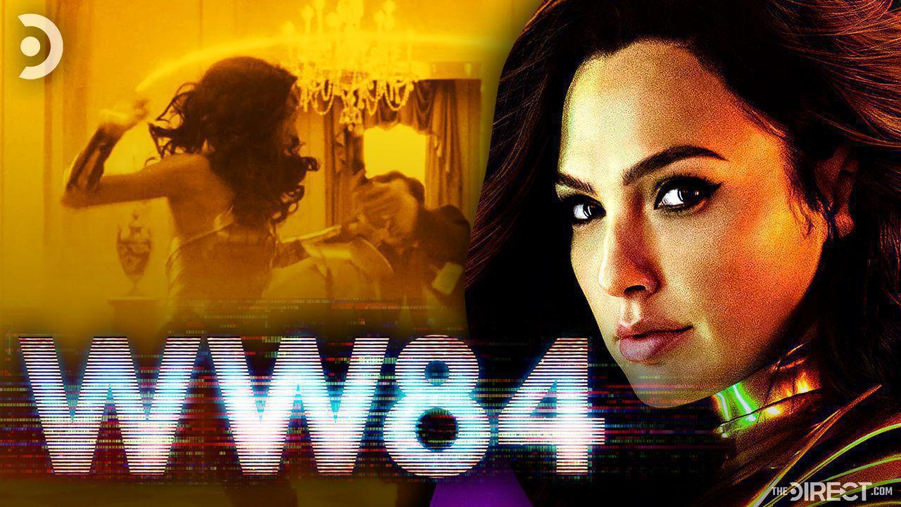 Wonder Woman 1984 trailer, logo, Gal Gadot.