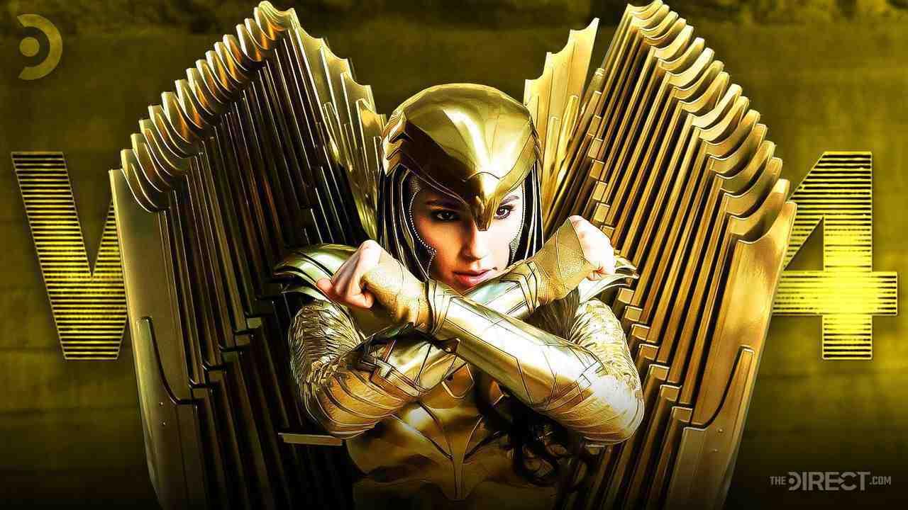 Wonder Woman in Golden Knight Armor