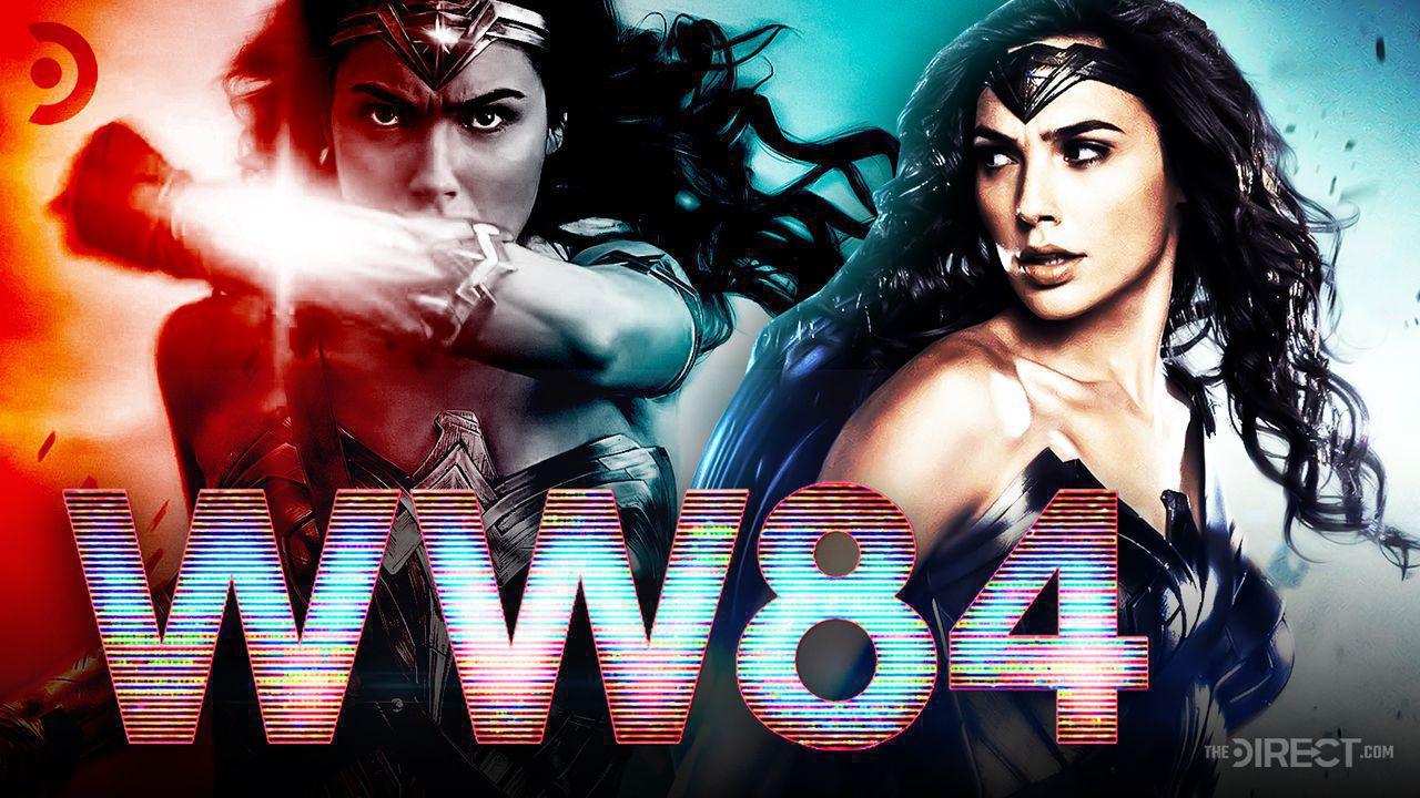 Wonder Woman 1984 logo, Gal Gadot as Wonder Woman