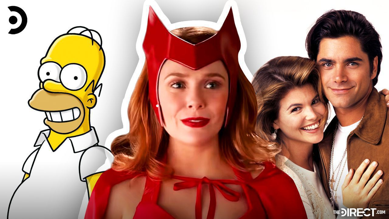 The Simpsons, Wanda in WandaVision, Full House