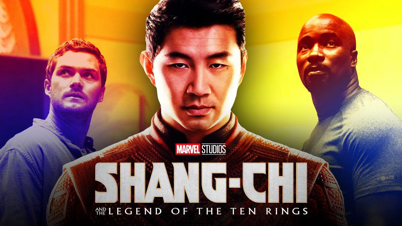 Shang-Chi Luke Cage Iron Fist