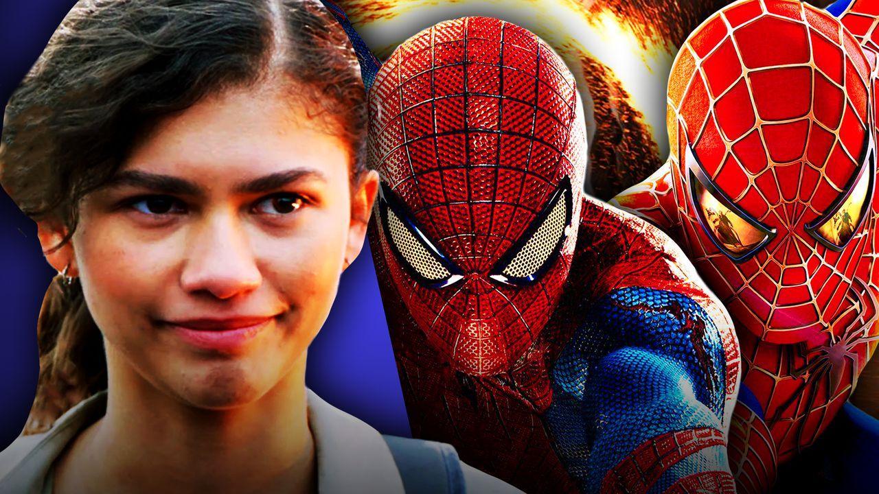 Zendaya, Andrew Garfield Spider-Man, Toby Maguire Spider-Man