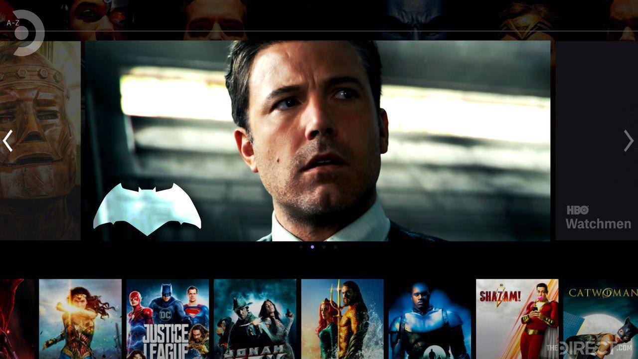 Ben Affleck as Batman, HBO Max panel of DCEU movies