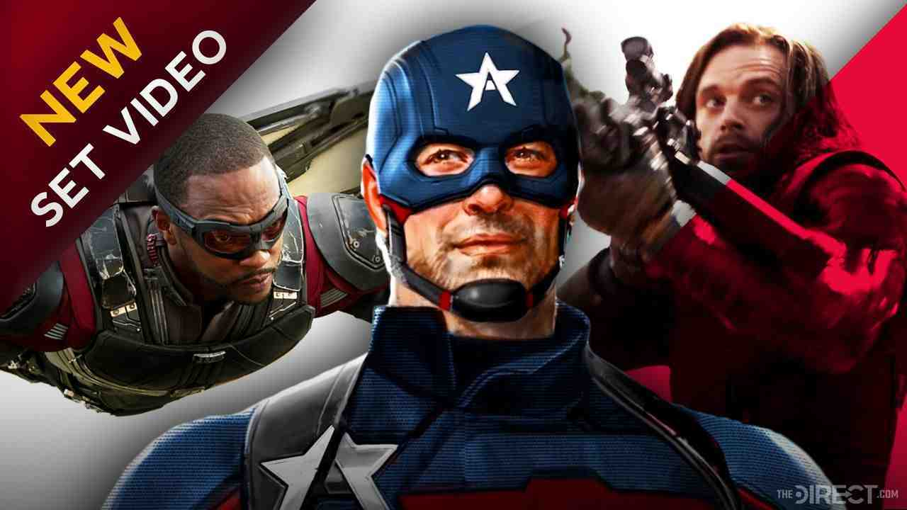 Falcon and U.S. Agent and Bucky