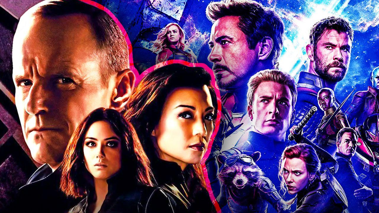 Agents of SHIELD Poster Avengers Endgame Poster