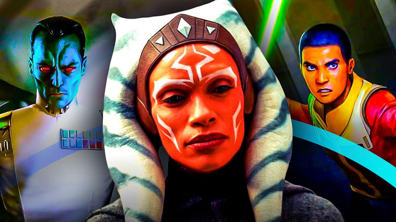 Ahsoka Thrawn Ezra Star Wars Disney Plus
