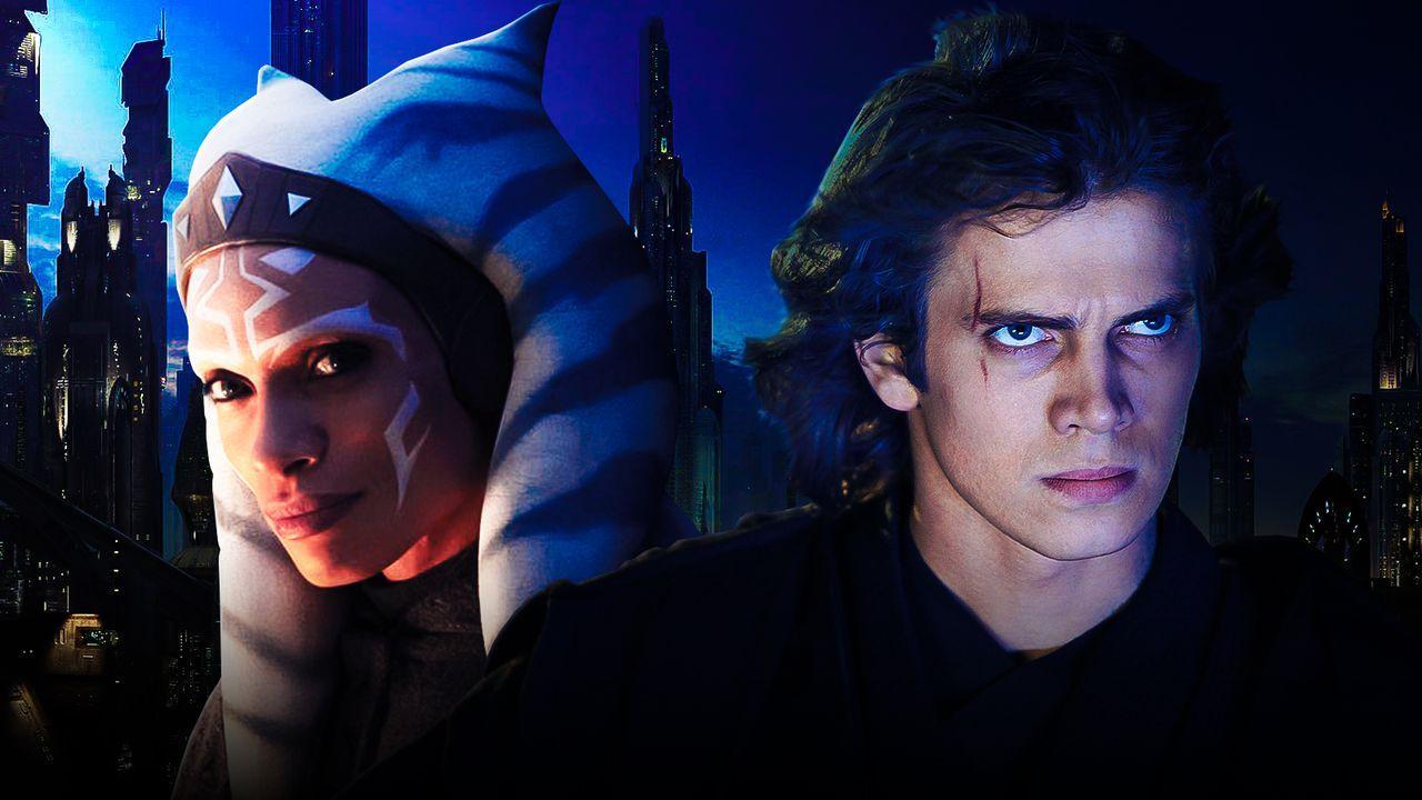Ahsoka and Anakin Skywalker