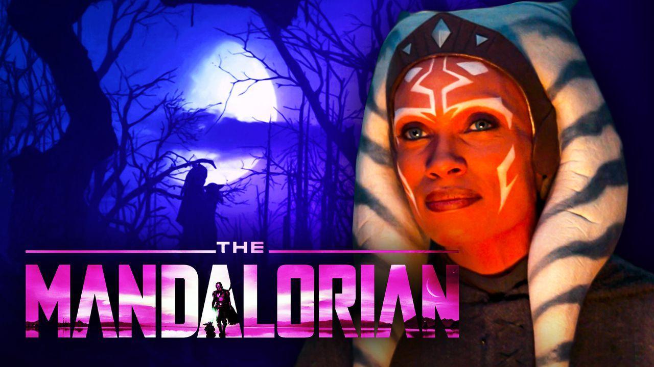 Ahsoka, The Mandalorian Logo, Baby Yoda Scene