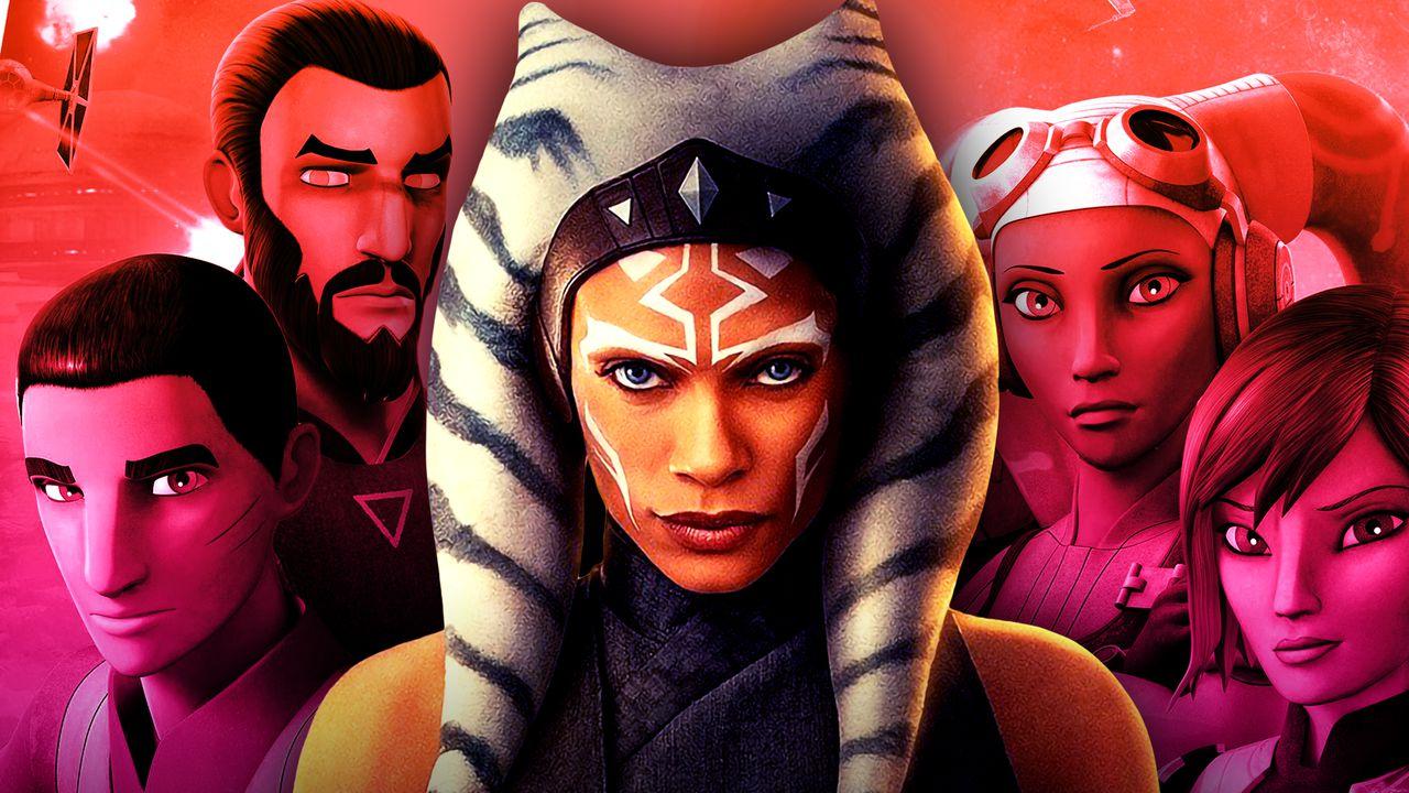Ahsoka, Star Wars Rebels characters