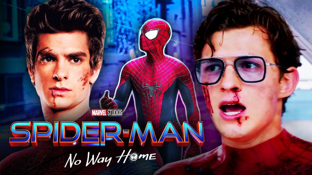 Andrew Garfield Tom Holland Spider-Man No Way Home