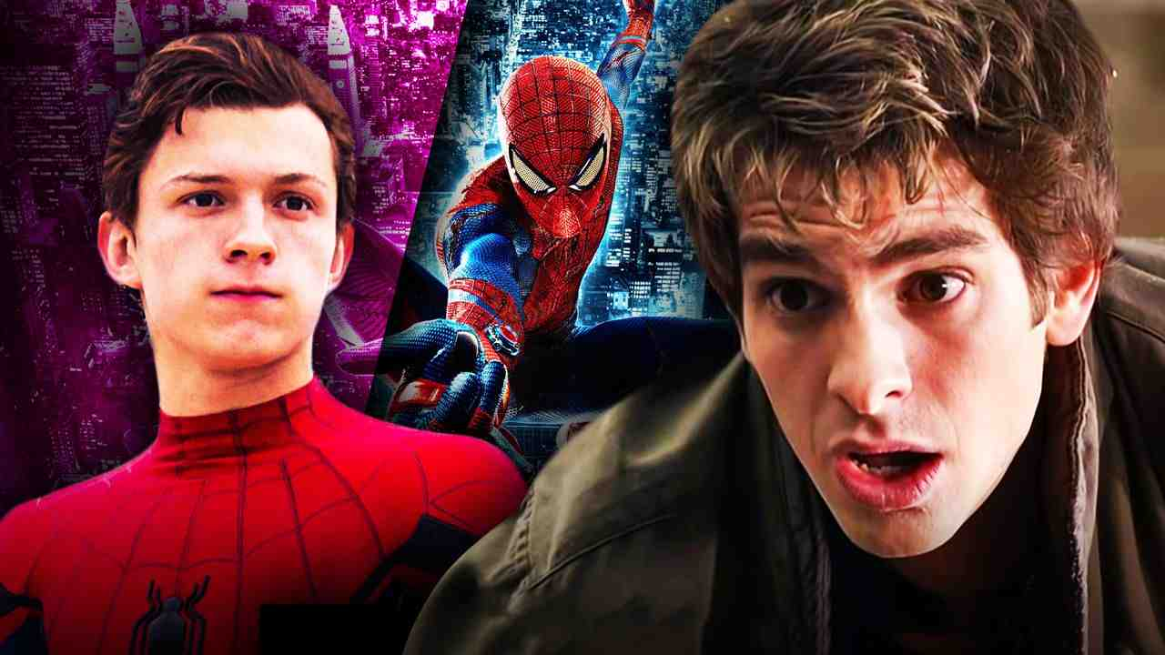 Amazing Spider-Man Andrew Garfield Tom Holland