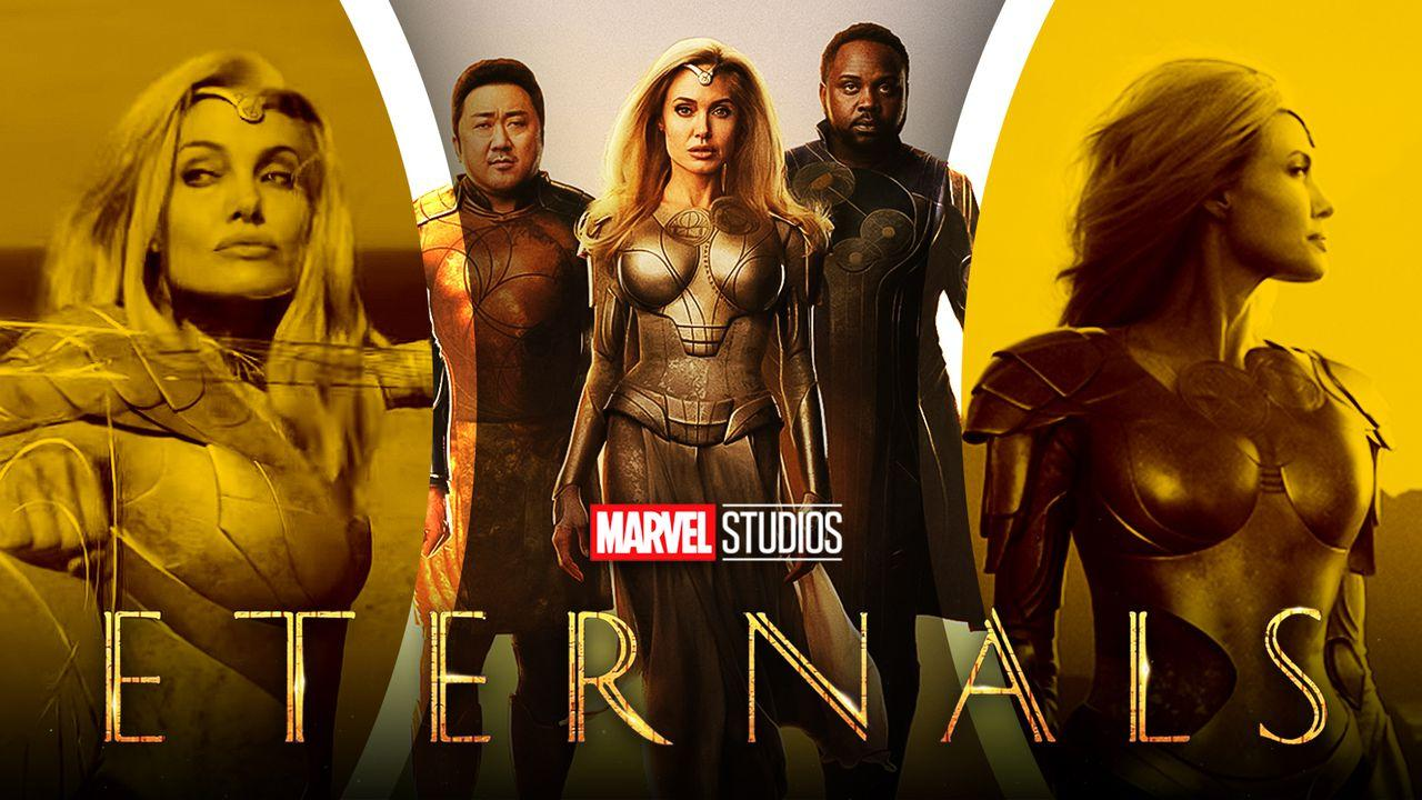 Marvel, MCU, Eternals, Thena, Angelina Jolie
