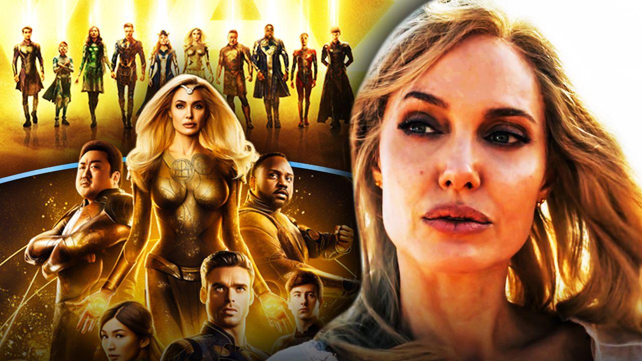 Angelina Jolie, Marvel's Eternals, Thena