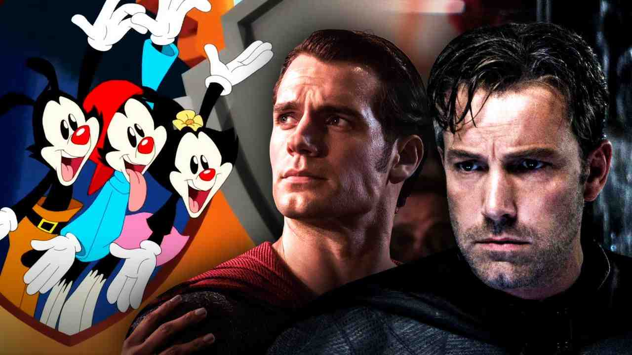 Animaniacs with Batman and Superman
