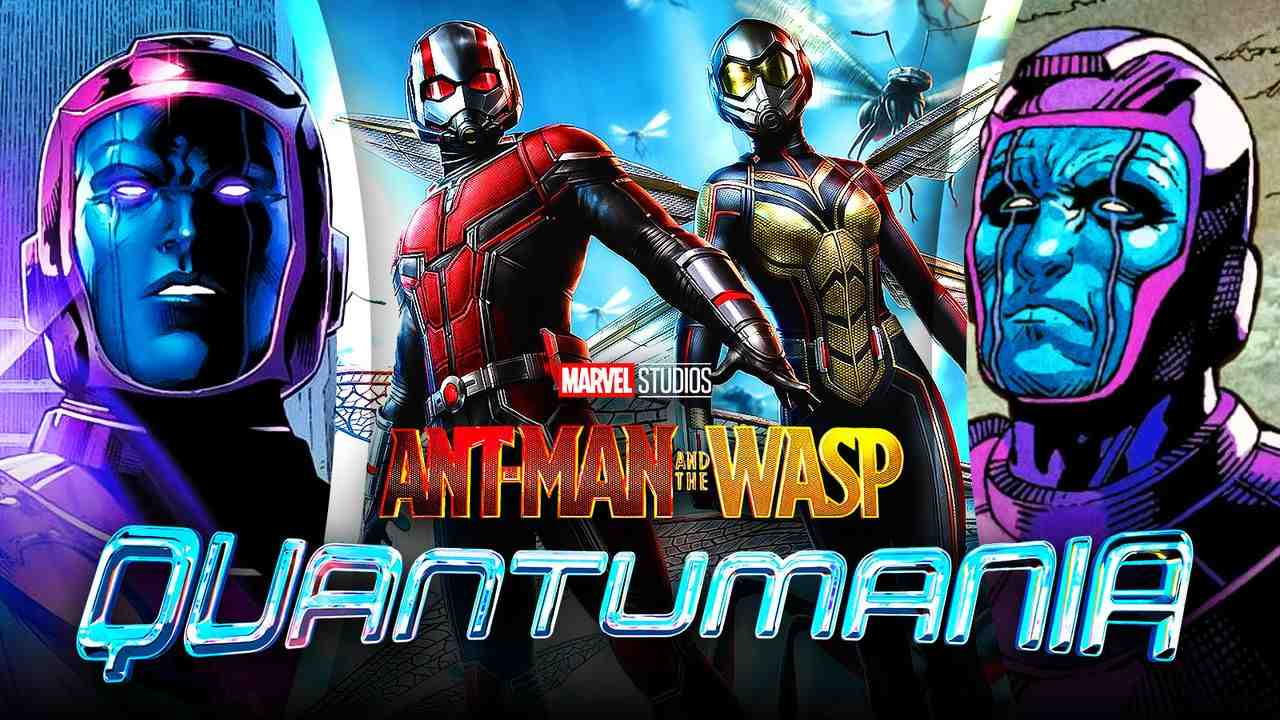 Ant-Man and the Wasp: Quantumania logo, Kang the Conqueror