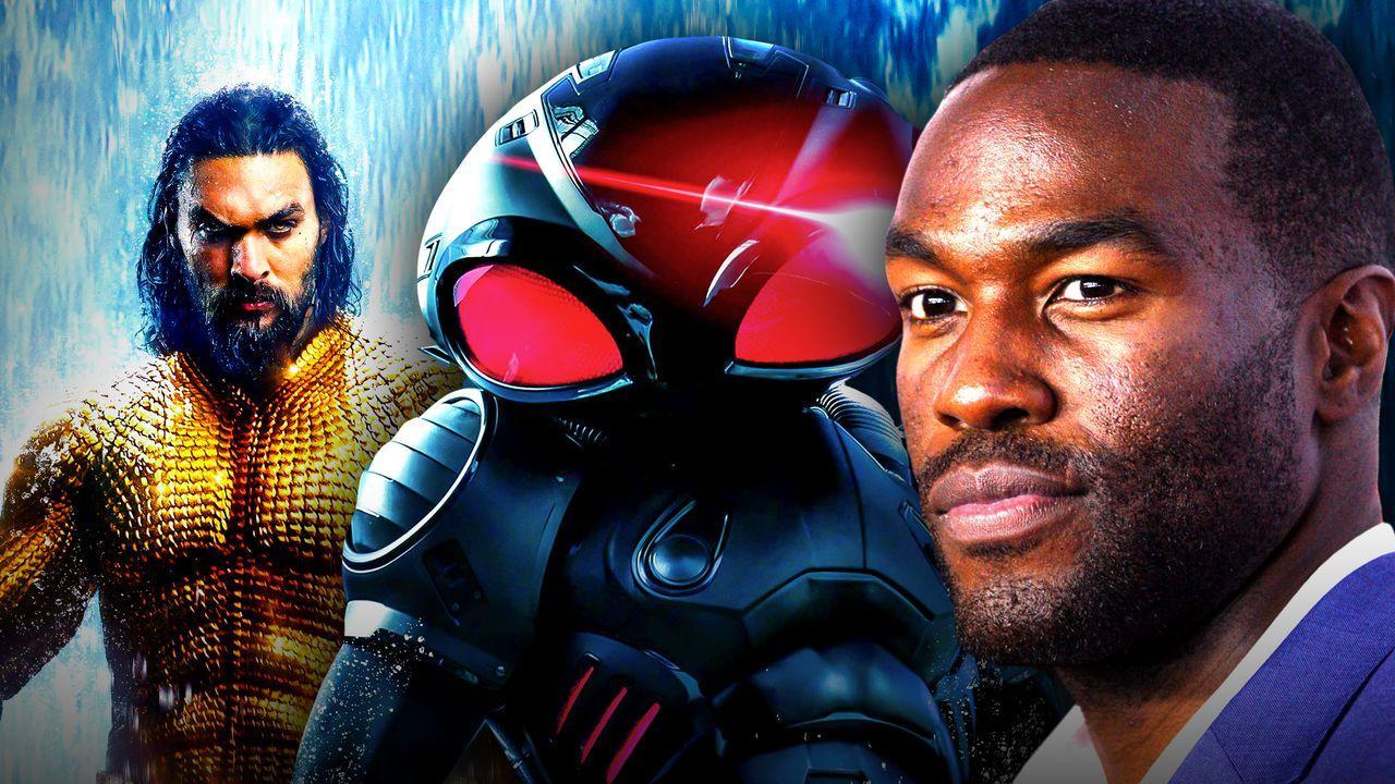 Yahya Abdul-Mateen II, Black Manta, Jason Momoa as Aquaman