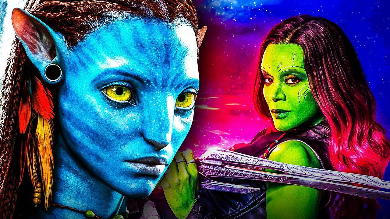 Zoe Saldana as Gamora, Avatar