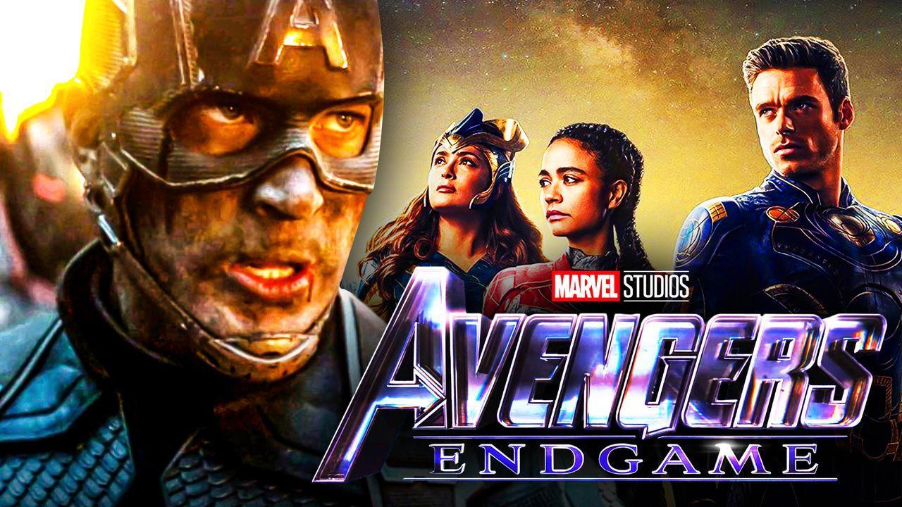 Avengers Endgame Captain America Eternals MCU