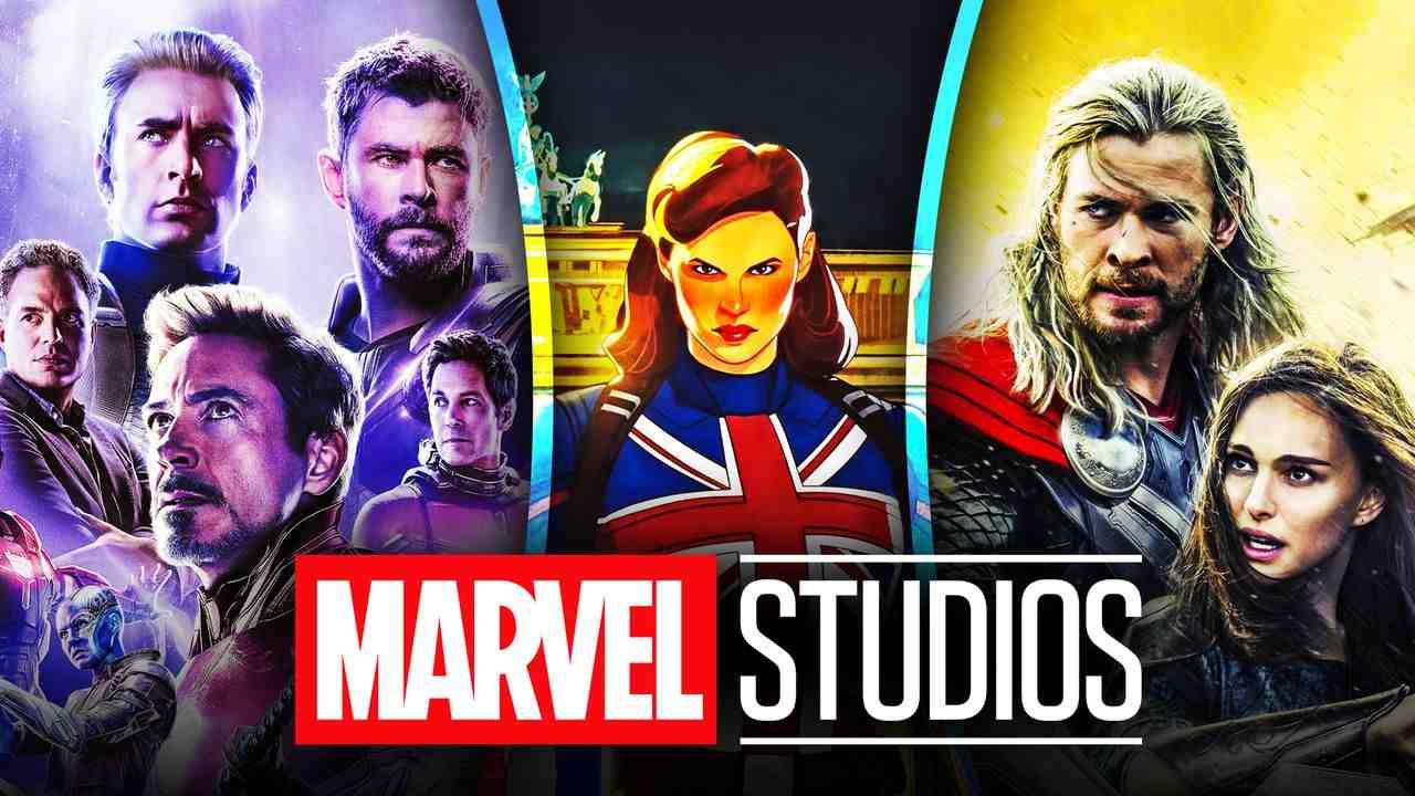 Avengers Endgame, Thor, Captain Carter, Marvel Studios logo