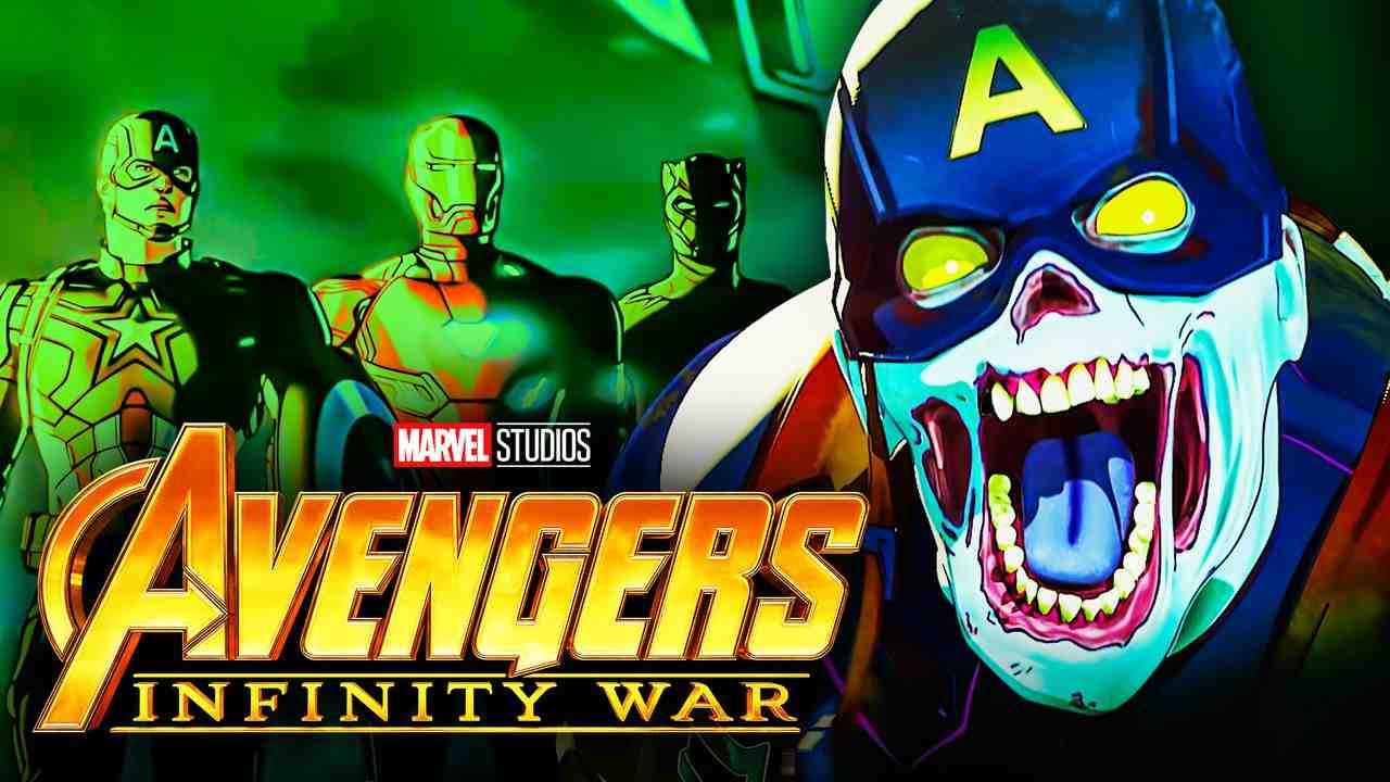 Avengers Infinity War zombies