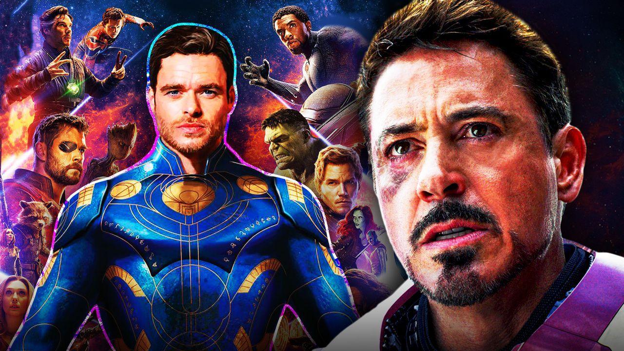 Eternals Ikaris, Avengers, Tony Stark